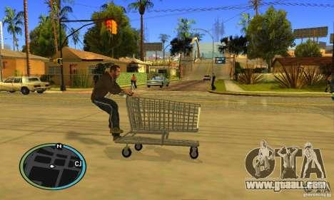 Shopping Cart Faggio V2 for GTA San Andreas