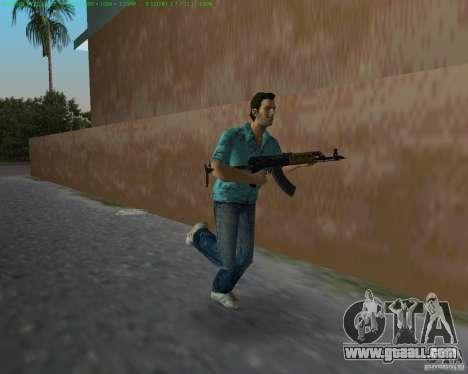 Zastava M-70AB2 for GTA Vice City third screenshot
