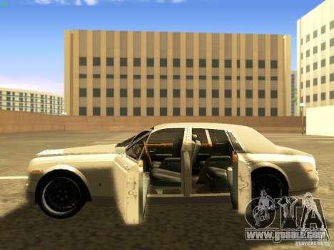 Rolls-Royce Phantom V16 for GTA San Andreas bottom view