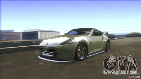 Nissan 370Z Drift 2009 V1.0 for GTA San Andreas engine