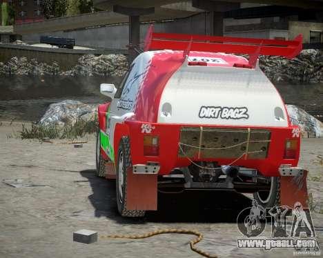 Mitsubishi Pajero Proto Dakar EK86 Vinyl 2 for GTA 4 right view