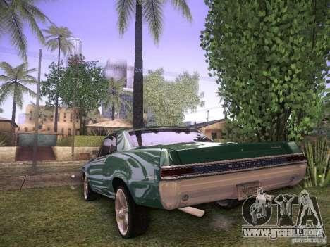 Pontiac GTO 65 for GTA San Andreas right view