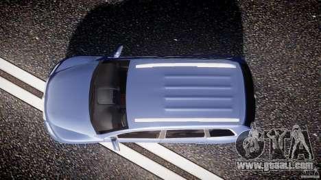 Volkswagen Touareg 2008 TDI for GTA 4 right view