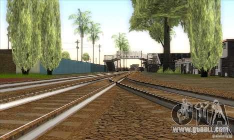 Russian Rail v2.0 for GTA San Andreas fifth screenshot