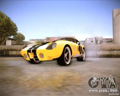 Shelby Cobra Daytona Coupe 1965 for GTA San Andreas right view