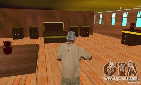 RMS Titanic for GTA San Andreas interior