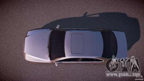 BMW 530I E39 stock white wheels for GTA 4 right view