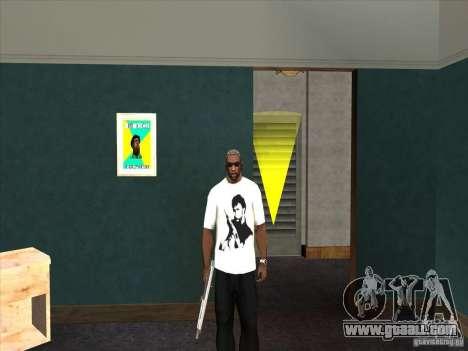 Chuck Norris t-shirt for GTA San Andreas