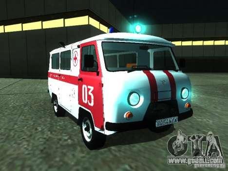 UAZ 3962 ambulance for GTA San Andreas