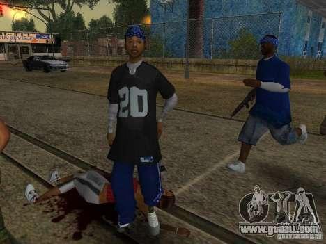 Crips for GTA San Andreas