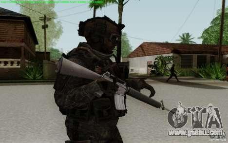 M16A2 for GTA San Andreas third screenshot