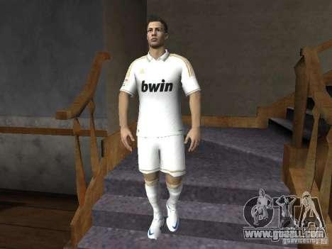 Cristiano Ronaldo for GTA San Andreas