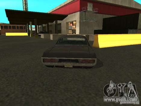 Dodge Polara 1971 for GTA San Andreas back left view