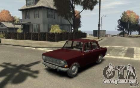 AZLK 412 Moskvich for GTA 4