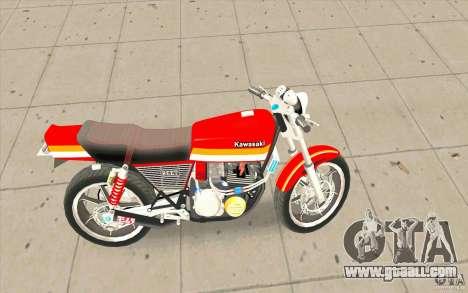 Kawasaki Z400FX for GTA San Andreas left view