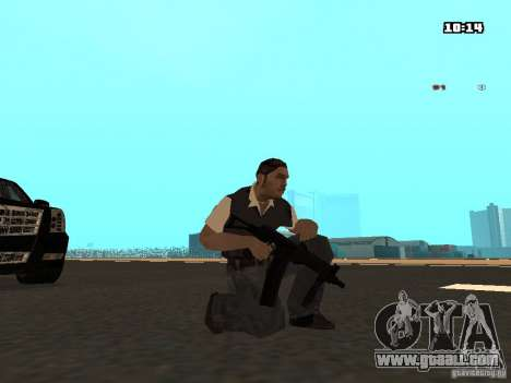 No Chrome Gun for GTA San Andreas fifth screenshot