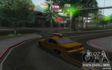 Radio Hud IV for GTA San Andreas second screenshot