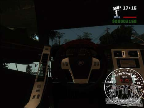 Cadillac XLR for GTA San Andreas side view