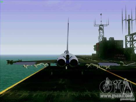 Eurofighter-2000 Typhoon for GTA San Andreas back left view