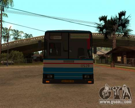 Autosan H10-11B full Orenburg stickers for GTA San Andreas inner view