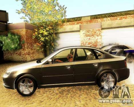 Subaru Legacy 3.0 R tuning for GTA San Andreas left view