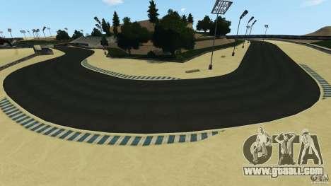Laguna Seca [HD] Retexture for GTA 4 eighth screenshot