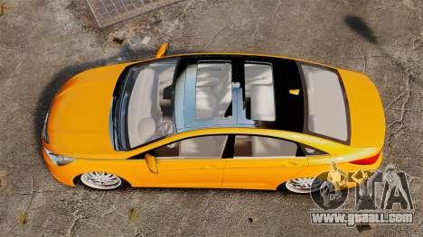Hyundai Sonata 2011 v2.0 for GTA 4 right view