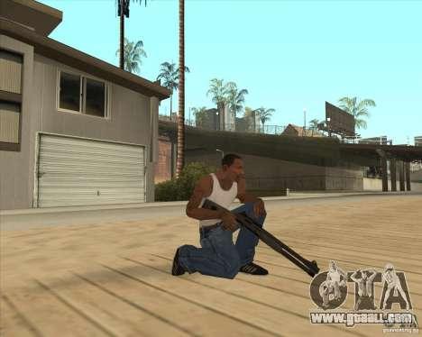 Automatic shotgun for GTA San Andreas