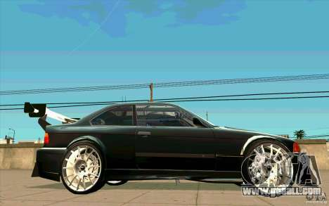 NFS:MW Wheel Pack for GTA San Andreas fifth screenshot