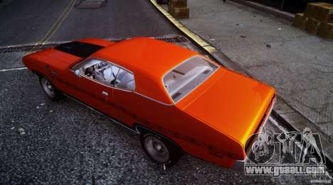Plymouth GTX 426 HEMI [EPM] v.1.0 for GTA 4 side view