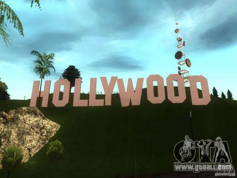 The Hollywood Sign for GTA San Andreas second screenshot
