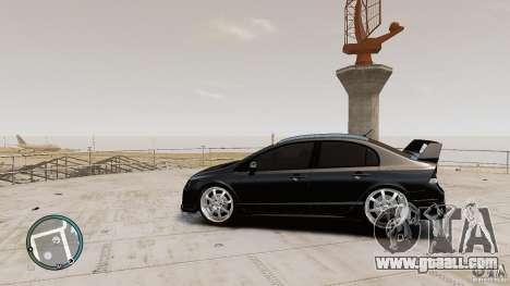 Honda Civic Mugen RR for GTA 4 left view
