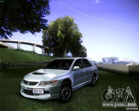 Mitsubishi Lancer Evolution VIII MR for GTA San Andreas