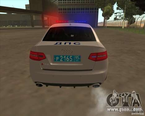 Audi RS6 2010 DPS for GTA San Andreas side view