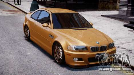 BMW M3 E46 Tuning 2001 v2.0 for GTA 4 inner view