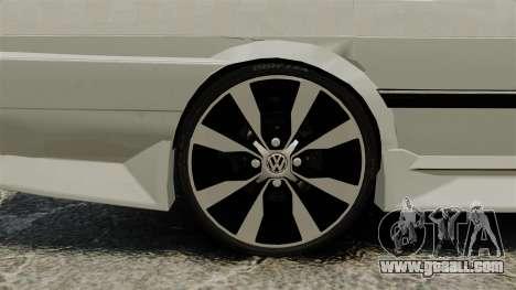 Volkswagen Santana Shanghai Century Rookie for GTA 4 back view