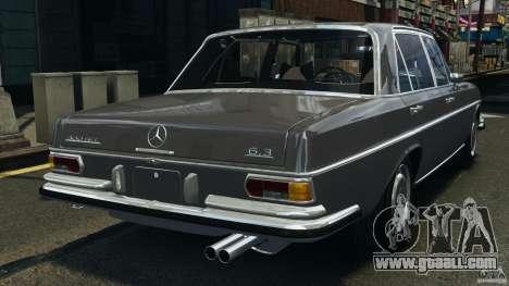 Mercedes-Benz 300Sel 1971 v1.0 for GTA 4 back left view