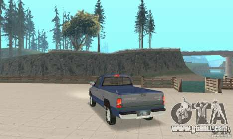 Dodge Ram 2500 1994 for GTA San Andreas left view