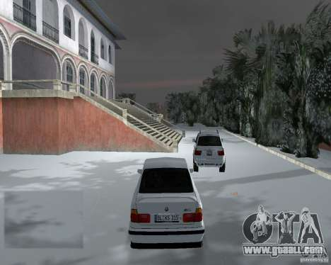 BMW M5 E34 1990 for GTA Vice City right view