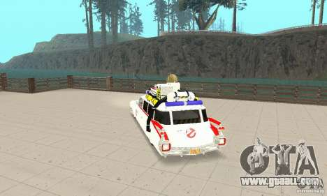 Ghostbusters ECTO 1 for GTA San Andreas left view