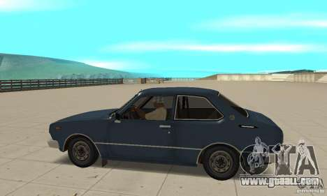 Toyota Corolla 1977 for GTA San Andreas left view