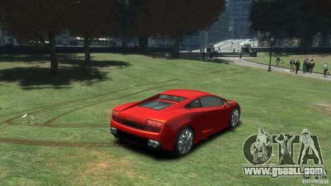 Lamborghini Gallardo LP 560-4 for GTA 4 back left view
