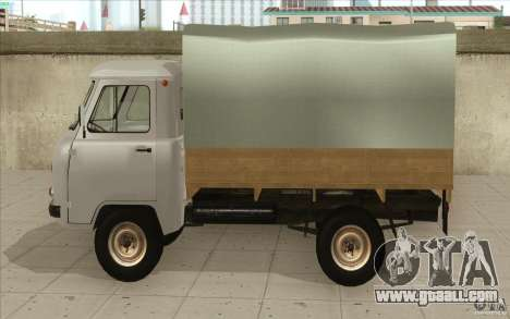 UAZ-3303 for GTA San Andreas back left view