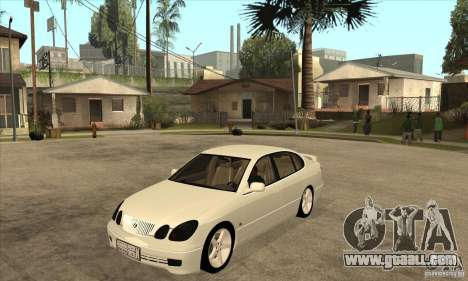 Lexus GS300 2003 for GTA San Andreas