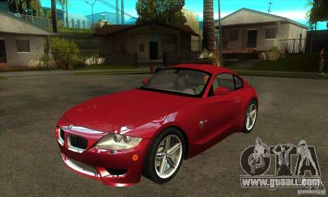 BMW Z4 - Stock for GTA San Andreas