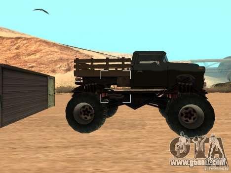 Walton Monster for GTA San Andreas left view