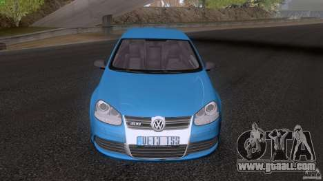 VW Golf 5 R32 2006 StanceWorks for GTA San Andreas back left view