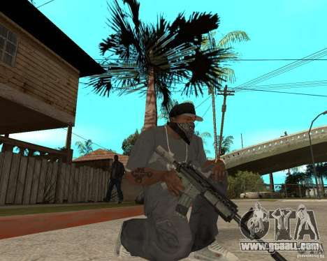 M4A1 with kolliminotarnym sight. for GTA San Andreas second screenshot