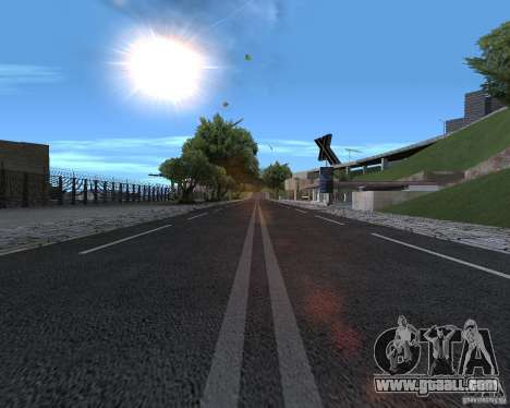 New roads for GTA San Andreas second screenshot