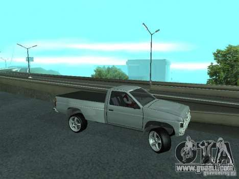 Nissan Pick-up D21 for GTA San Andreas side view